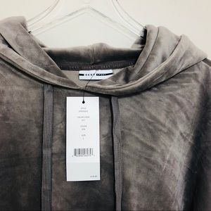 DKNY Hoodie Sweatshirt Women's Size L